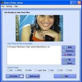 Kate's Video Joiner (free) 3.05 screenshot