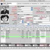 Recovery Report-Debt Recovery Management Software 2012 screenshot