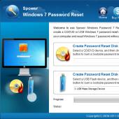 Windows 7 Password Reset 3.0.0.3 screenshot