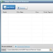 Simpo PDF Password Remover 1.1.0 screenshot