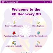 XP Recovery CD Maker 1.01.10 screenshot