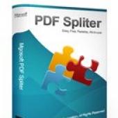 Mgosoft PDF Spliter SDK 9.0.1 screenshot