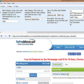 TheFreeadForum.com Pro Submitter 2.0 screenshot