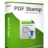 Mgosoft PDF Stamp 7.1.11 screenshot